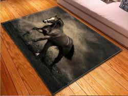Matto 140x195 cm, hevonen
