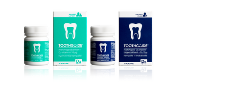 ToothGuide® Aikuiset PLUS -Maitohappobakteeri + propionihappobakteeri- ja D3-vitamiinivalmiste 24 g