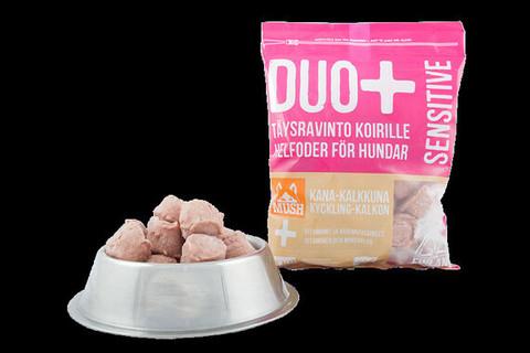 Mush Duo+ Sensitive, kana-kalkkuna 1 kg