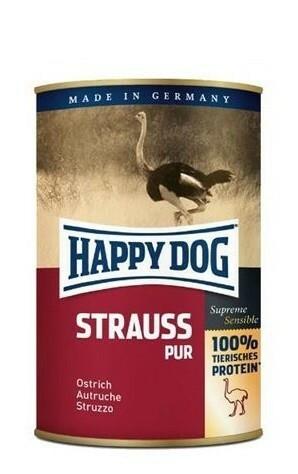 Happydog säilyke strutsi 400 g