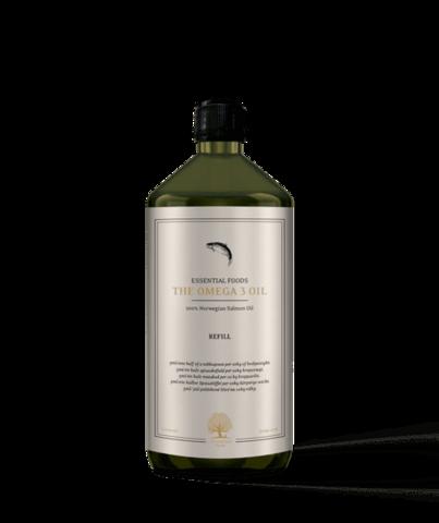 Essential Omega 3 lohiöljy 500 ml