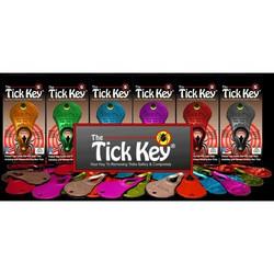 The Tick Key punkinpoistaja, värilajitelma