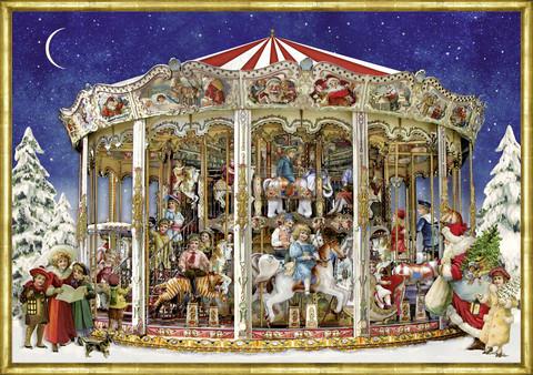 Joulukalenteri, karuselli