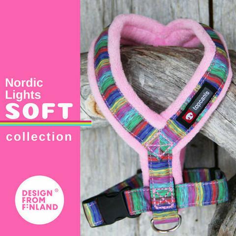 FinNero Nordic Lights y-valjas 30 cm, pinkki