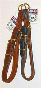 Jokke Mamba puolikiristävä nahkapanta 75 cm, ruskea