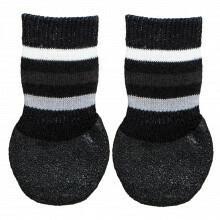 Trixie sukat laajalla liukuesteellä s-m, musta