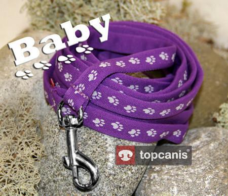 Topcanis Baby talutin 200 cm, violetti