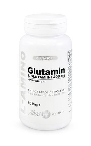 Aboa Medica L-glutamiini 400 mg 90 kaps