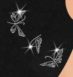 Kangasmaski perhoskoristeilla