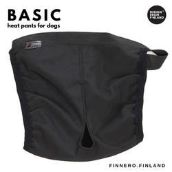 Finnero Basic narttusuoja, S, musta