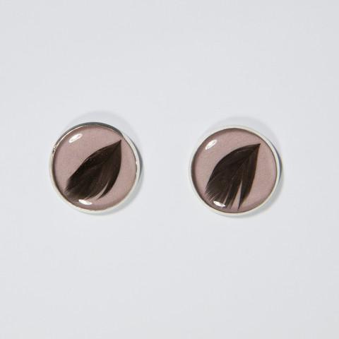 My little chicken earrings, rose