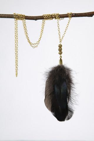 Golden Chicken necklace