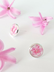 Cherry blossom -stud earrings