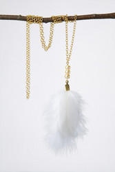 Golden Chicken necklace