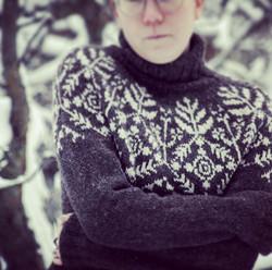 Suolaulu talvi villapaita, printtiohje