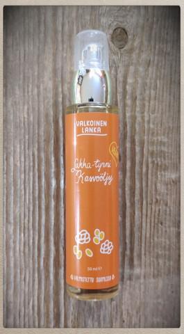 Lakka-Tyrni kasvoöljy