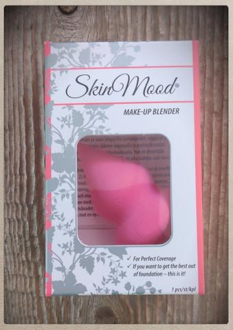 Skinmoodin Make Up Blender -meikkisieni, pinkki