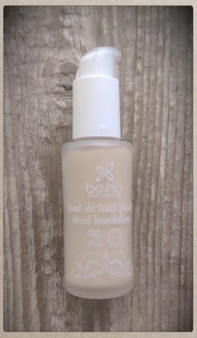 Boho Fluid Foundation meikkivoide - Porcelaine (01)