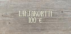 100 € Lahjakortti