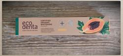 Ecodenta valkaiseva papaija luomu hammastahna