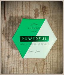 Luonkos Powerful Jauhedeodorantti
