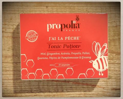 Propolia Tonic Potion Energia-ampullit Inkivääri
