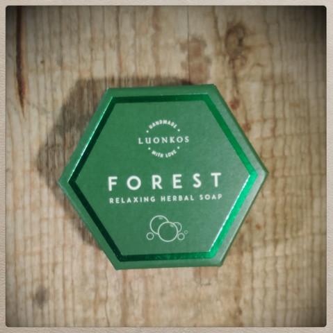 Luonkos Forest Rentouttava Yrttisaippua