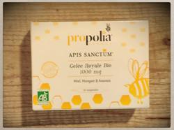 Propolia Organic Royal Jelly Luomu Lasiampulli