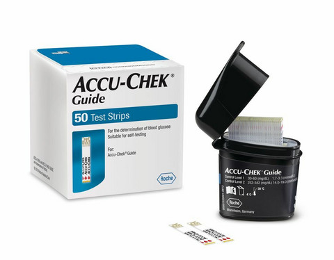 Accu-Chek Guide -liuska 50kpl/pkt
