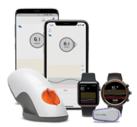Dexcom G6 jatkuvan glukoosiseurantajärjestelmän palvelupaketti vastaanottimella