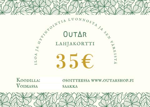 Lahjakortti 35€
