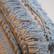Kasvivärjätty sisustustyyny Koivu hapsukas 44 x 44 cm