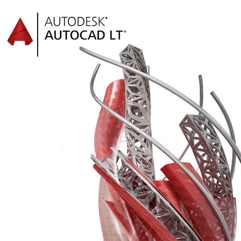 AutoCAD LT Win Vuokralisenssi 36kk. Sähköinen Lisenssi