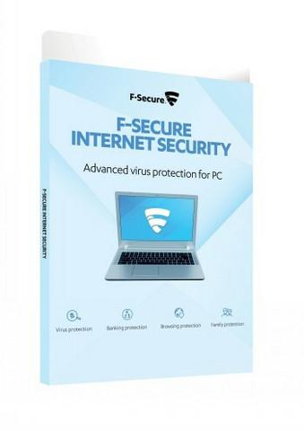 F-Secure Internet Security 3 vuotta, 1PC E-KEY