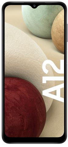 Samsung Galaxy A12 -Android-puhelin 64 Gt Dual-SIM, musta