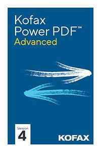 Kofax Power PDF 4 Advanced ESD