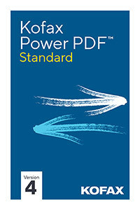 Kofax Power PDF 4 Standard ESD