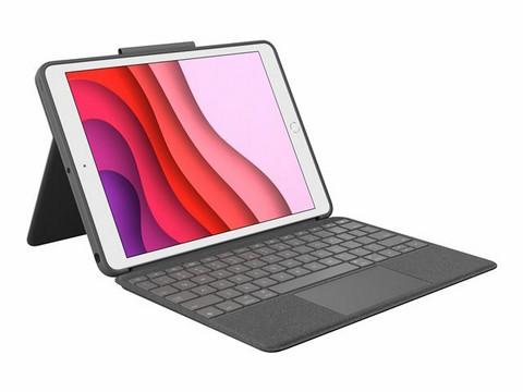Logitech Combo Touch -näppäimistö/suojakotelo, 7. & 8. sukupolven iPadille