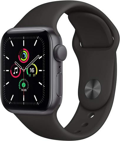 Apple Watch SE älykello (GPS, 40 mm) space gray aluminum
