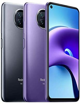 Xiaomi Redmi Note 9T 5G -Android-puhelin, Dual-SIM, 128 Gt, yön musta
