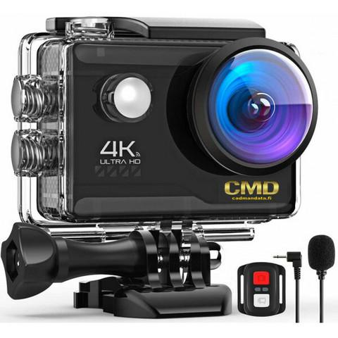 CMD 4K 20MP Actionkamera, Wifi