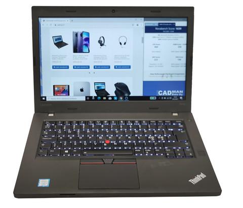 Käytetty ThinkPad T470p Premium i7-7700HQ/16Gt/256Gt SSD