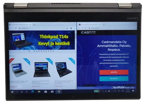 Nopeimmalle: Käytetty Lenovo ThinkPad Yoga 370 - huippuhybridi kannettava / tablet