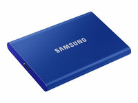 Samsung 1TB Portable SSD T7, ulkoinen SSD-levy, USB 3.2 Gen2 Type-C, indigon sininen