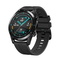 HUAWEI WATCH GT 2 (46MM) BLACK WITH BLACK SPORT STRAP