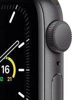 Apple Watch SE älykello (GPS, 40 mm) space gray aluminum