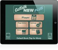 Gotalk Now Plus -Apuohjelma, ipad
