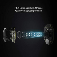 Xiaomi 2K Pro valvontakamera – 360 astetta, Wifi