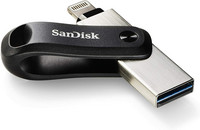 Sandisk iXpand Go, USB-muisti iPhonelle/iPadille, 128 Gt
