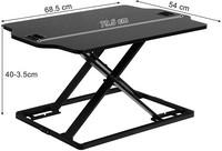 CMD säädettävä pöytätaso – max 10kg